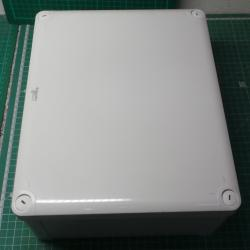 ABS Industrial box low cover,291x 241 x 128, IPK66 IK07, SAREL 85017,