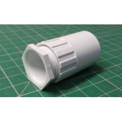 x00207, 20mm Female, Adaptor + Locking ring