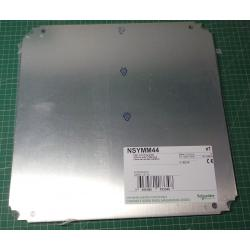 400x400mm, Plain mounting plate