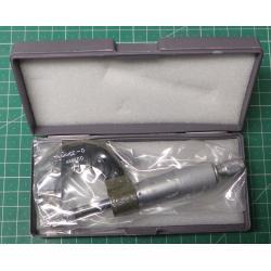 Micrometer 0-25mm, 1 division0.01mm