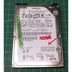 USED Hard Disk, Laptop, IDE, 100GB