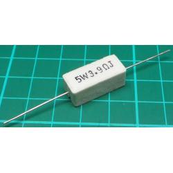 Resistor, 3R9, 5%, 5W