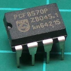 PCF8570P, 256x8bit Static Ram