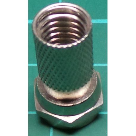 F Type connector 7mm Screw on type