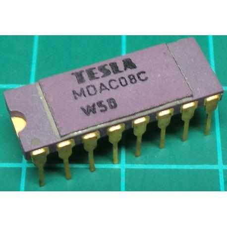 MDAC08C, 8 Bit D to A Converter