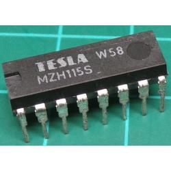 MZHS115, Quad 2 Input NAND with Y Input, Old Stock