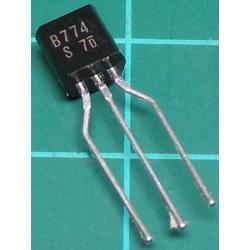 2SB774, PNP Transistor, 30V, 0.2A, 0.4W