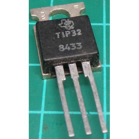 TIP32, PNP Transistor, 80V, 3A, 40W