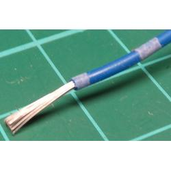 20AWG, 0.75mm2, Stranded, PVC, 105deg, Blue / White