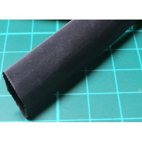 12mm / 4mm, Heatshrink, Black, (3:1 Ratio)