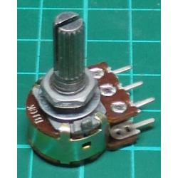 Potentiometer, 2 x 10K, Lin, THT, 6x13.5mm Shaft