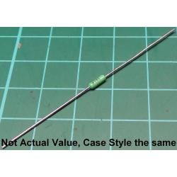 Resistor, 7K5, 1%, 0.25W, green