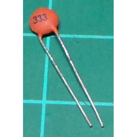 Capacitor, 47nF, 50V, Ceramic