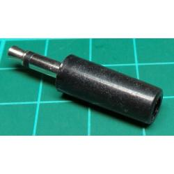 Jack Plug 100 Pack , 3.5mm, Mono, Plastic