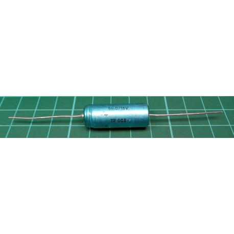 100 pack of Capacitor, 1000uF, 16V, Axial, Electrolitic