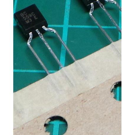 BC559C, PNP Transistor, 30V, 0.1A, 0.5W