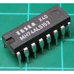 MH74ALS153, Dual 4 Input Multiplexer