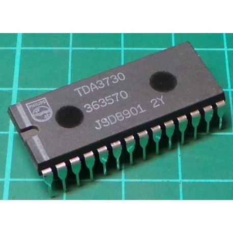 TDA3730, Frequency Demodulator and Drop Out Compensator for Video Recoders