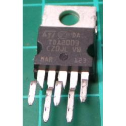 TDA2003, 10W Audio Power Amplifier