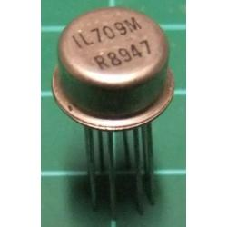 IL709M (LM709 Clone), Op Amp, Metal Can
