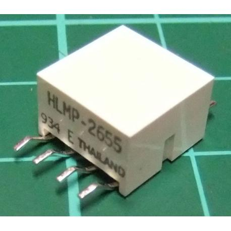 LED Array (4 LEDS), Red, HLMP-2655