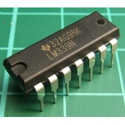 LM339N, Quad Differential Compatitor