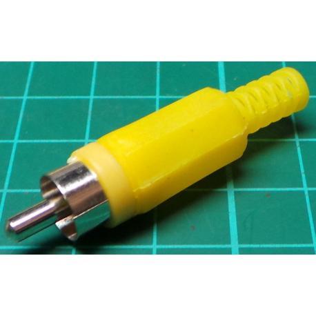RCA / Phono Plug, Yellow