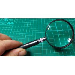 Magnifying Glass, 60mm x 6mm, 5x