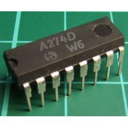 A274D (TCA740 Clone), VCF, TREBLE AMD BASS STEREO CONTROL CIRCUIT