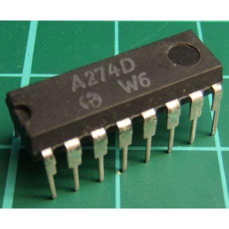 A274D (TCA740 Clone), D.C. TREBLE AMD BASS STEREO CONTROL CIRCUIT