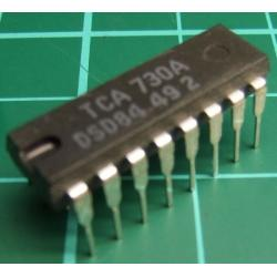 TCA730A, D.C. VOLUME AND BALANCE STEREO CONTROL CIRCUIT