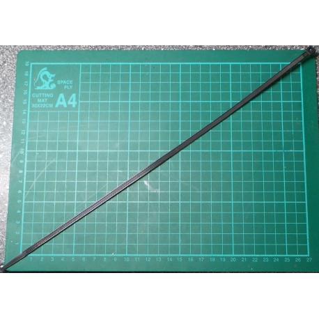 Cable Tie, 4.8x430mm, Black (UV Resistant)