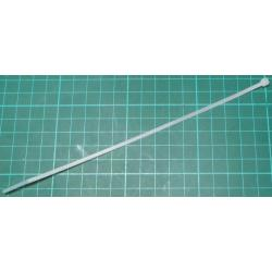 Cable Tie, 2.5x205mm, White