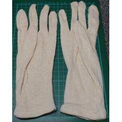 Cotton Work Gloves, 1 pair