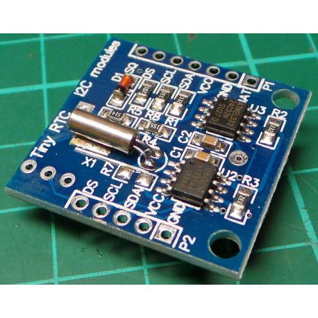 Real Time Clock Module For I2C DS1307 AT24C32 AVR ARM PIC