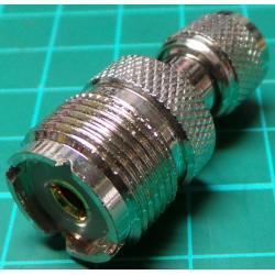Mini UHF Male to UHF Female Adaptor