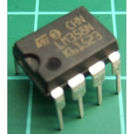 LM358, Dual Op Amp