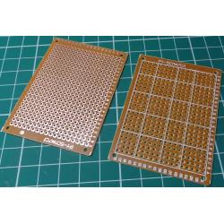Prototyping board, 50x70mm, 18x24 holes, 2.54mm Pitch, Circular Pads
