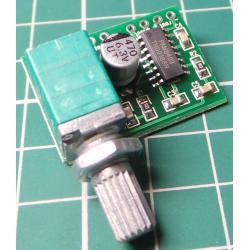 Stereo Amplifier Module, 2x3W, 5VPSU