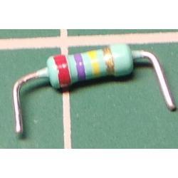 Resistor, 270K, 5%, 0.25W, Formed Legs