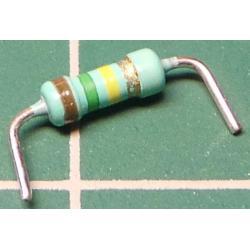 Resistor, 150K, 5%, 0.25W, Formed Legs