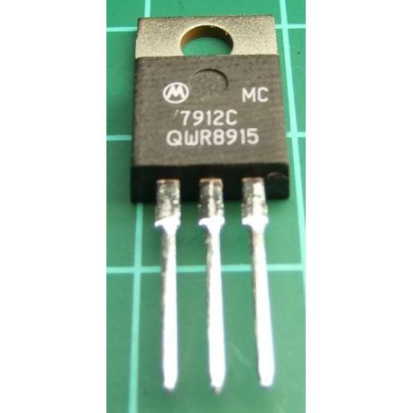 MC7912C, -12V, 1.5A Voltage Regulator