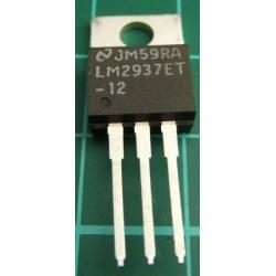 LM2937Et-12, 12V, 500 mA Low Dropout Regulator