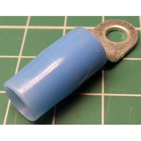 M5 Ring Terminal, Light Blue, 25mm2