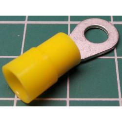 M5 Ring Terminal, Yellow