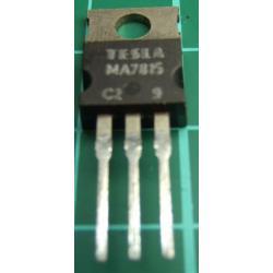 MA7815, 15V, 1A, Voltage Regulator
