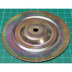Toroidal Transformer top/bottom plate, 90mm dia, 7mm hole