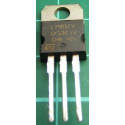 L7905CV, -5V, 1.5A Voltage Regulator