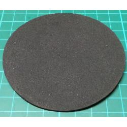Toroidal Transformer Insulating pad, 87mm dia, 6mm hole