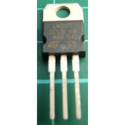 LM317T, 1.2-37V Adjustable, 1.5A Voltage Regulator